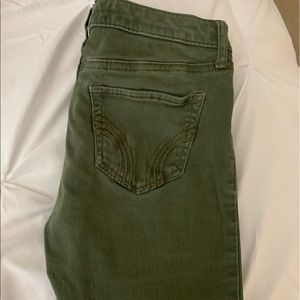 Hollister Olive green jeans